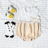 Cute Girls Sleeveless Bodysuit - Little Swan Boutique