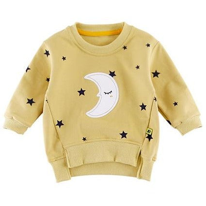 Baby Moon Star Top - Little Swan Boutique