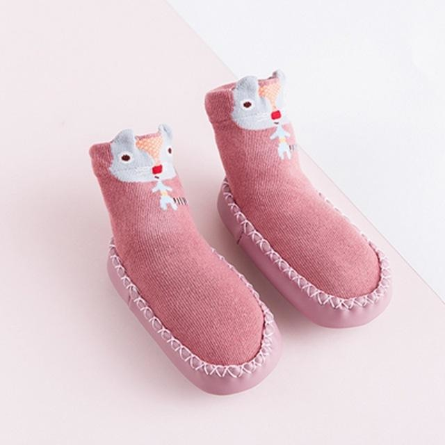 Baby Non-Slip Animal Socks - Little Swan Boutique