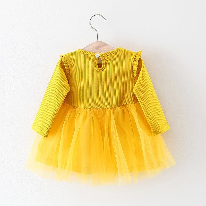 Baby Girls Lace Tutu Rabbit Dress - Little Swan Boutique