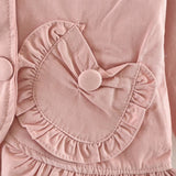 Cute Baby Girls Hooded Jackets - Little Swan Boutique