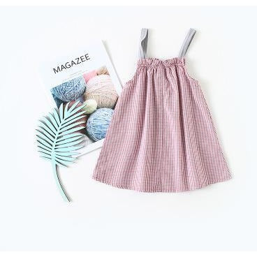 Girls Summer Sling Dress - Little Swan Boutique