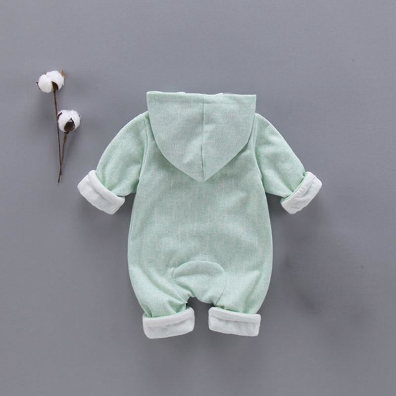 Baby Girls Swan Jumpsuits - Little Swan Boutique