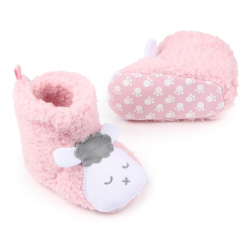 Cute Baby Animal Booties - Little Swan Boutique