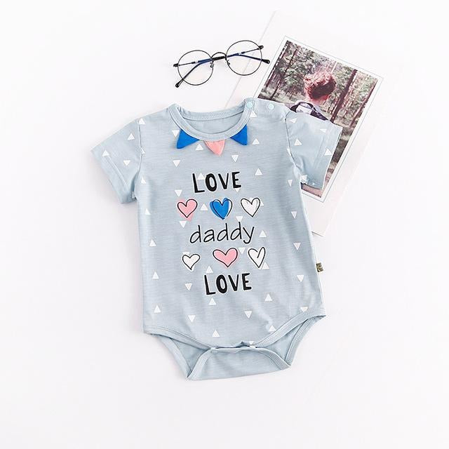 Baby Love Mummy Daddy Bodysuit - Little Swan Boutique