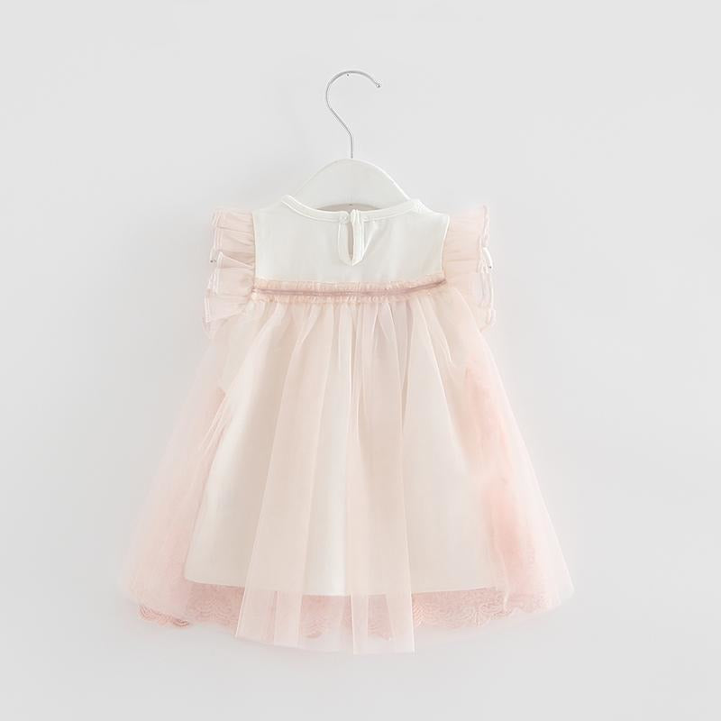 Baby Girls Embroidery Dress - Little Swan Boutique