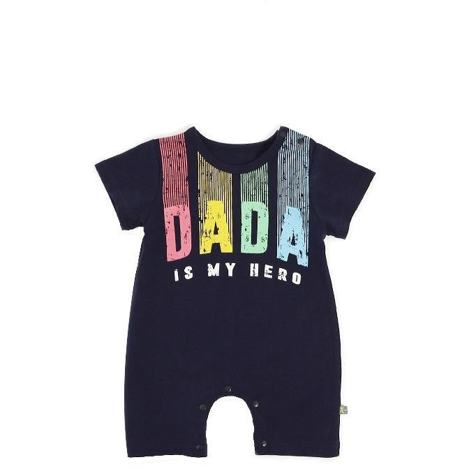 I Love Dada Mama Jumpsuit - Little Swan Boutique
