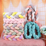1.5M Colorful Braided Crib Bumper - Little Swan Boutique