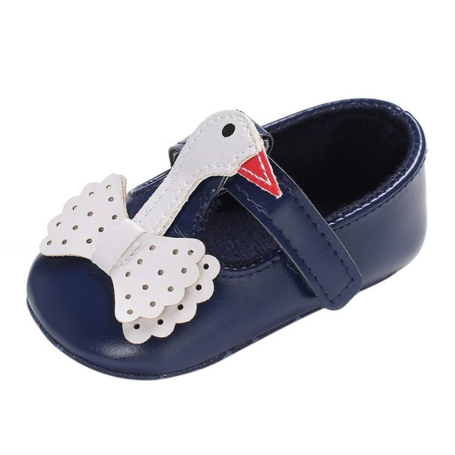 Cute Baby Girls Swan Shoes - Little Swan Boutique