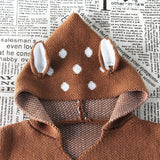 Knitted Baby Deer Sleeping Bag - Little Swan Boutique