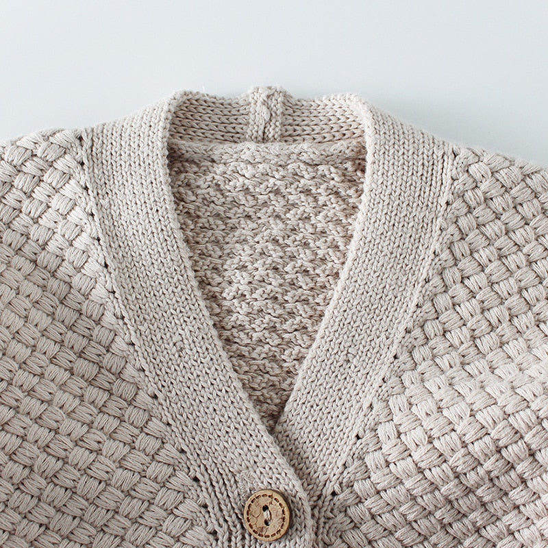 Cute Baby knitted Cardigan - Little Swan Boutique