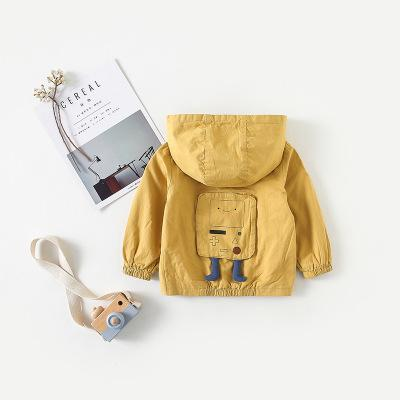Autumn Baby Cartoon Jacket - Little Swan Boutique