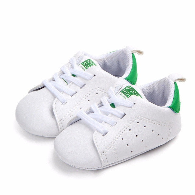 Cute Babies Casual White Sneakers