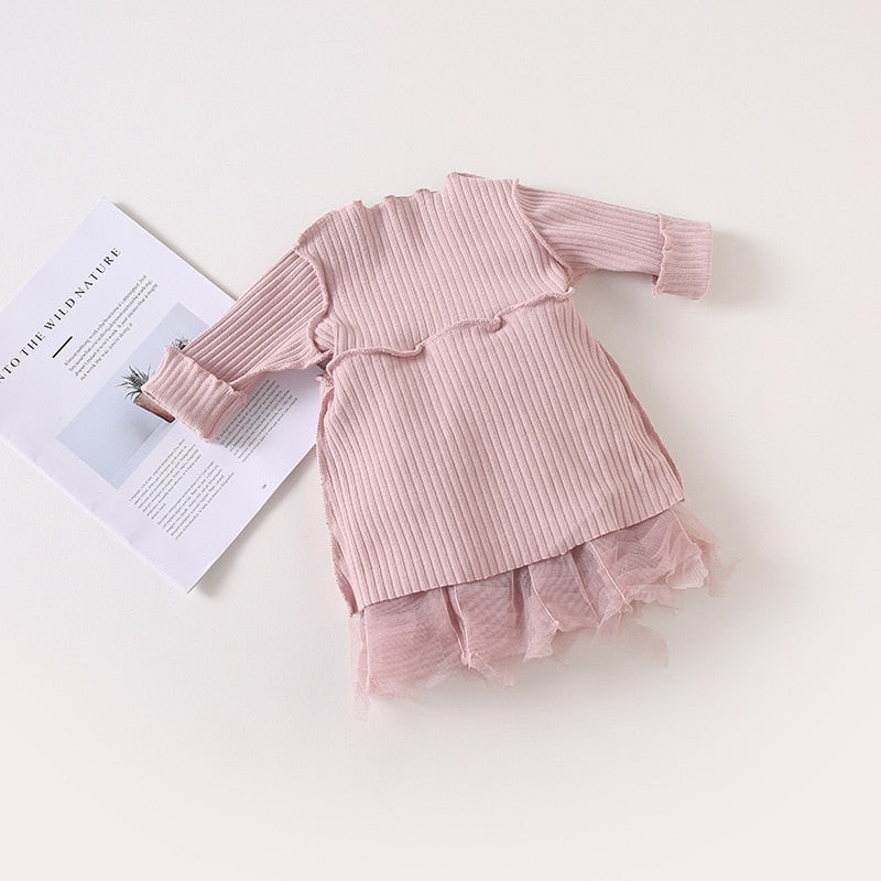 Beautiful Girls Ruffle Party Dress - Little Swan Boutique