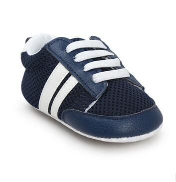 Cute Kids Striped Sneakers