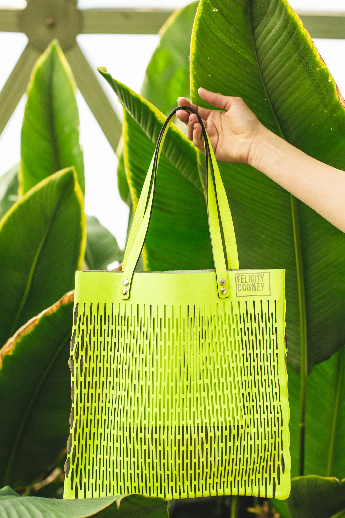 Neon Yellow Summer Bag