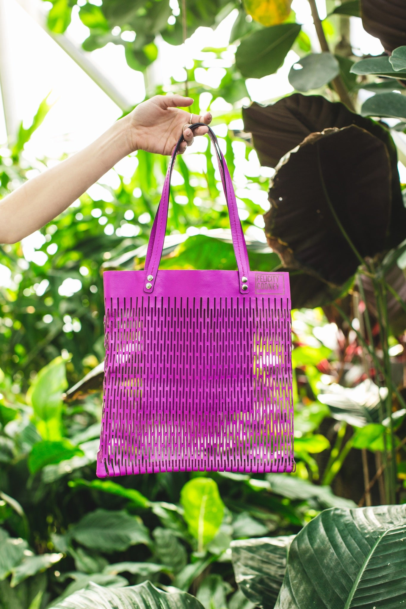 Orchid Summer Bag