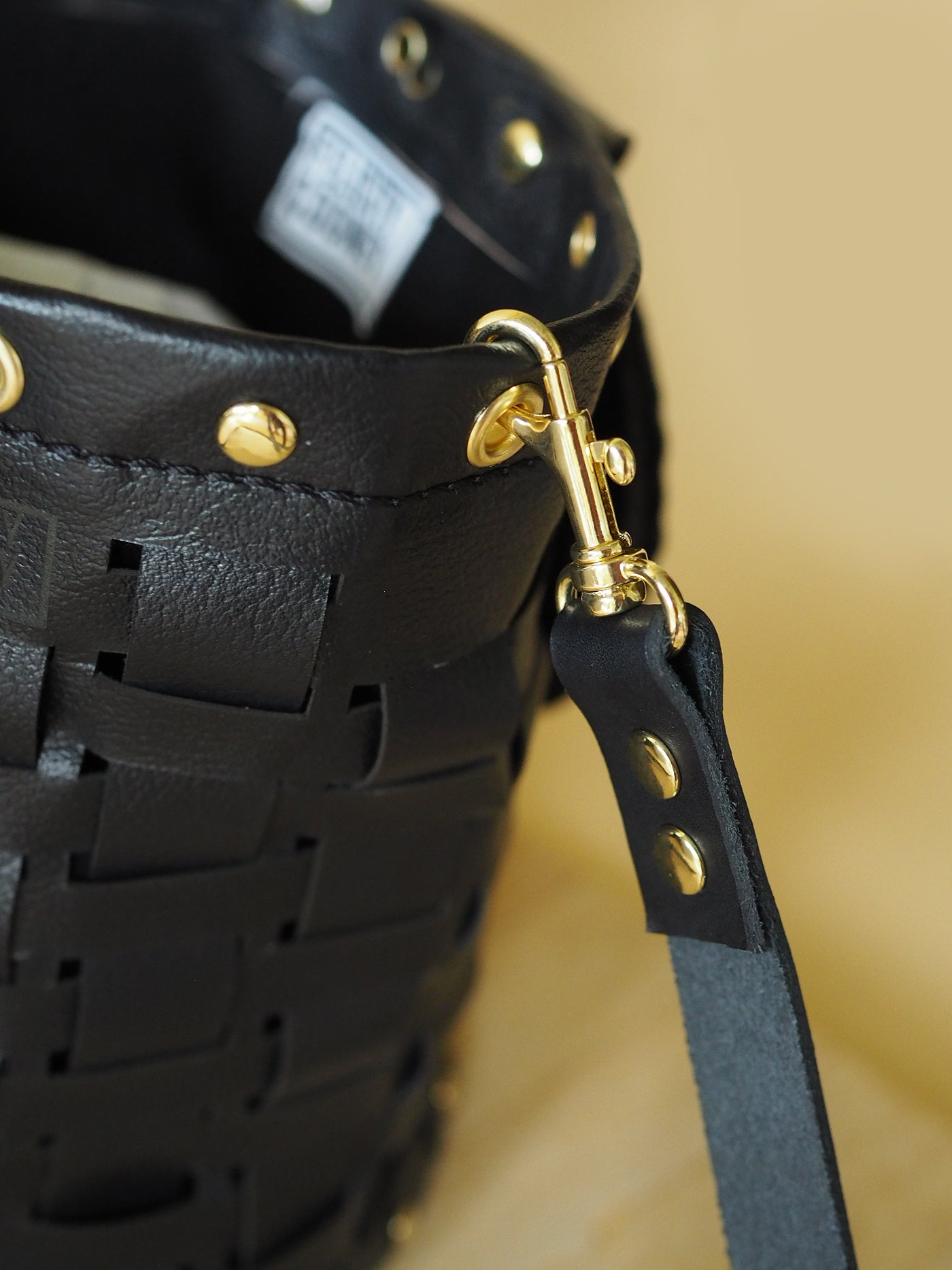 The Black and Brass Susie Bag