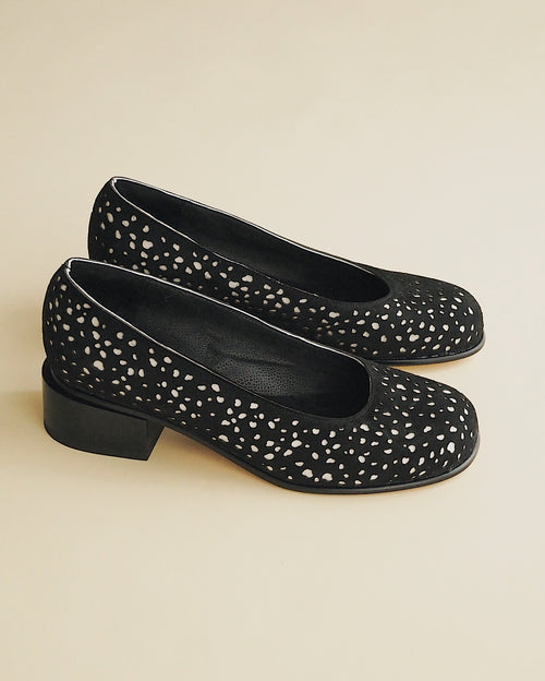 Black Speckle Pump