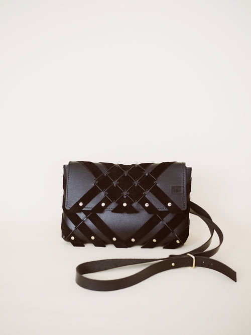 Petra bag- Black leather