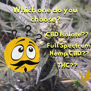 Do you need Full Spectrum Hemp CBD, CBD Isolate or THC?