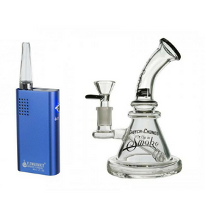 FLOWERMATE MINI PRO V5s AND WATER PIPE COMBO SET - Hemp Eagle
