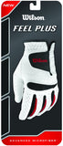 Wilson Feel Plus Glove Men's Right Hand XL White