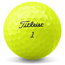 Titleist Tour Soft Yellow - A Grade Used Golf Balls