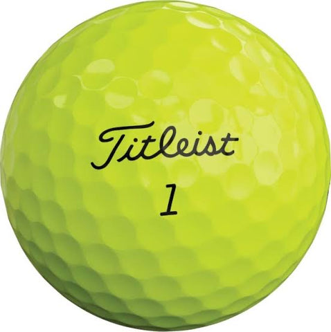 Titleist Pro V1 - MINT Grade Used Golf Balls - Optic Yellow