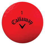 Callaway Superhot Matte Red - AAA Grade Used Golf Balls