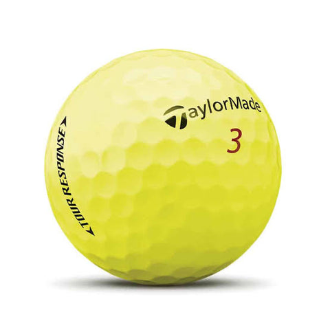 TaylorMade 2020 Tour Response Yellow - AAA Grade Used Golf Balls