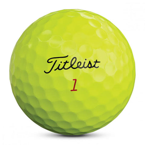 Titleist Pro V1x - MINT Grade Golf Balls - Optic Yellow