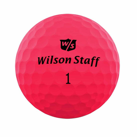 Wilson Staff Duo Soft Optix Pink - AAA Grade Used Golf Balls