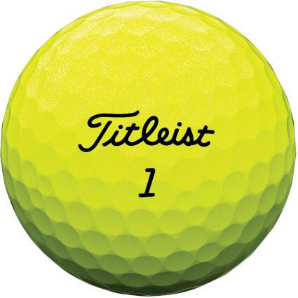 Titleist AVX - AAA Grade Used Golf Balls - Optic Yellow