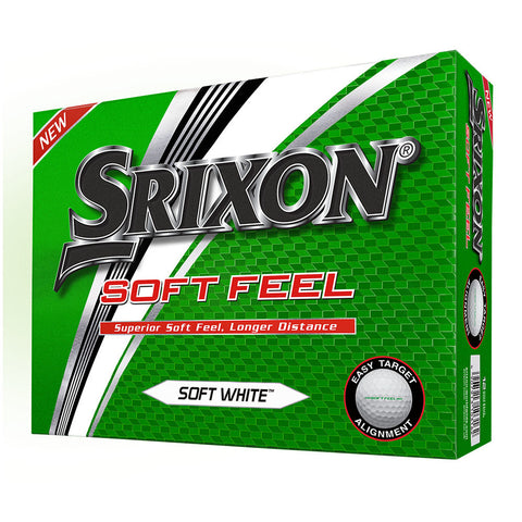Srixon Soft Feel - Brand New 2019 Model Golf Balls