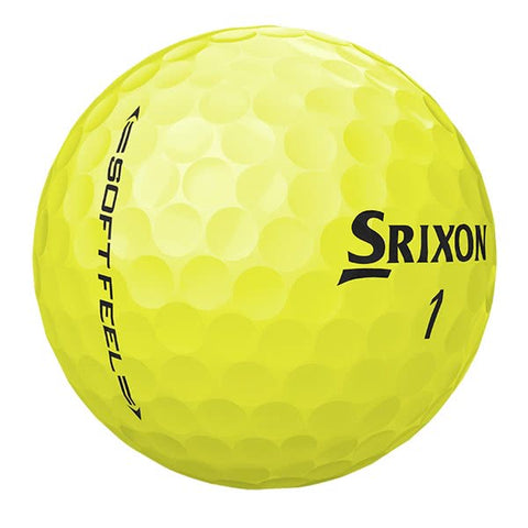 Srixon Soft Feel Yellow - AAA Grade Used Golf Balls