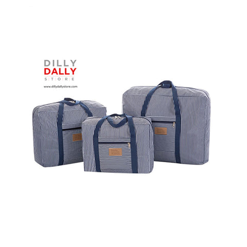 Waterproof Oxford Clothes Bag Suitcase - Dilly Dally Store