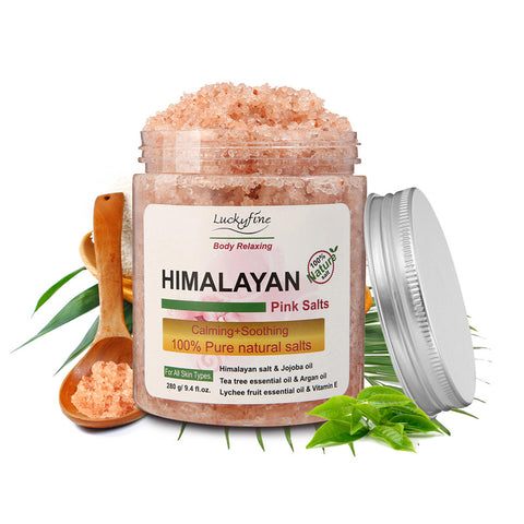 Himalayan Pink Salt Body Scrub - Dilly Dally Store