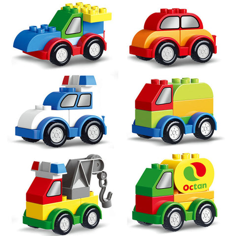 Bricks Building Blocks vehicle - Dilly Dally Store