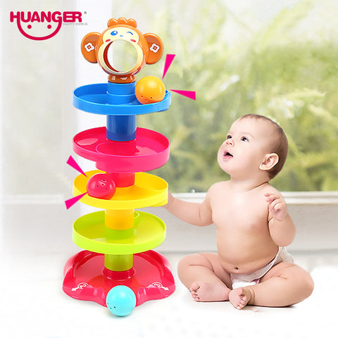 Huanger Pile Tower  Rolling Ball Bell - Dilly Dally Store
