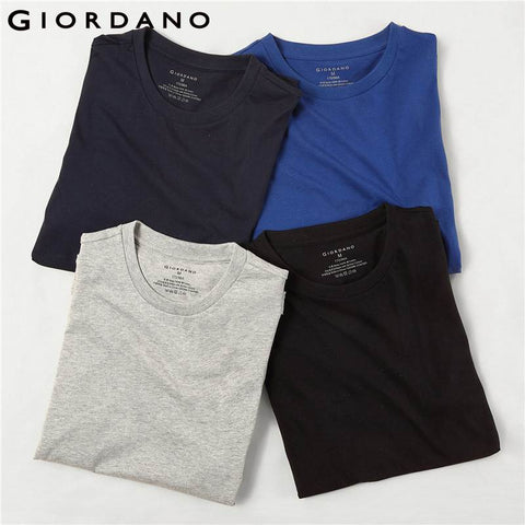 Giordano Men T-shirts Undershirt Basic 4 pack - Dilly Dally Store