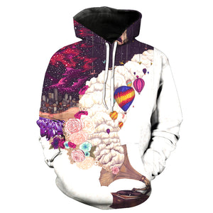 Big Dream Art 3D Painted Hoodie - Novel3d