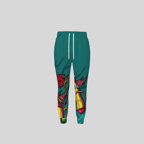 All-over print unisex sweatpants - Novel3d