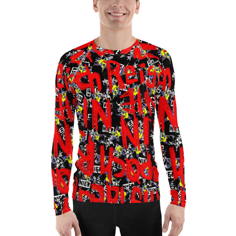 Men's Rash Guard - Novel3d