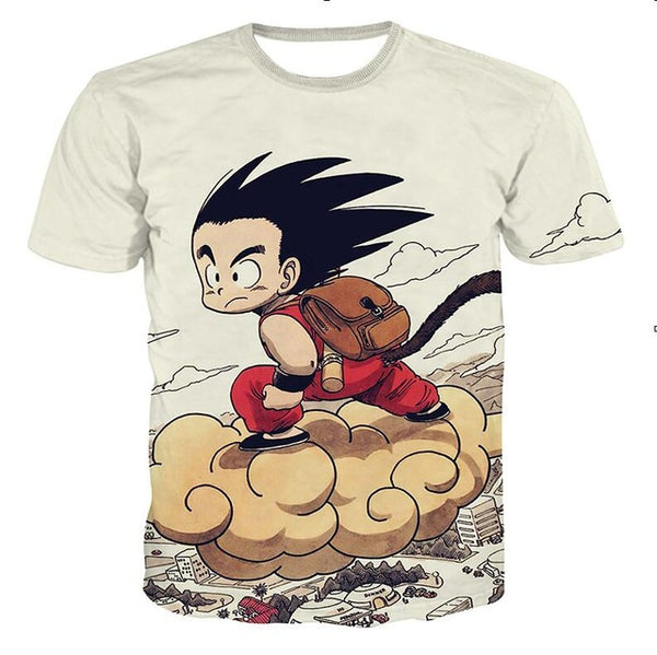 Dragon Ball 3D Printing Top Tees - Novel3d