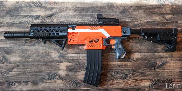 [REVIEW] 3D Printed Nerf Stryfe Cosmetic Kits | 3D TACTICS