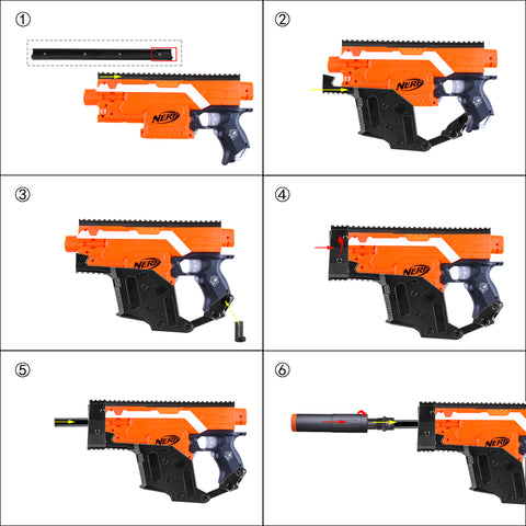 Nerf Mod Kriss Vector Instruction