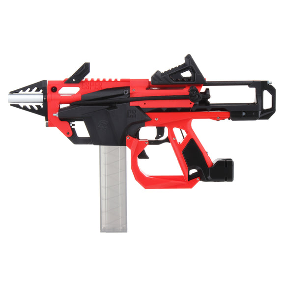 JGCWorker F10555 No.213 Esper Blaster for Talon Magazine - Red + Black Rubber Band Toy Gun Version A - Nerf Mod Kits -Worker Mod Kits