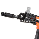 JGCWorker STF-W024-A AK Alfa Style Mod Kits Set With Orange Adaptor for Nerf N-Strike Elite Stryfe Blaster - Nerf Mod Kits -Worker Mod Kits