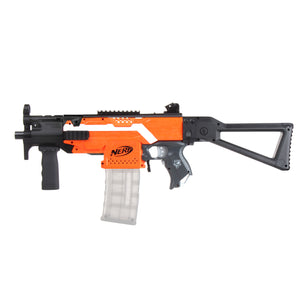 JGCWorker STF-W008-02 MP5-K B Style Mod Kits Set for Nerf N-Strike Elite Stryfe Blaster - Nerf Mod Kits -Worker Mod Kits